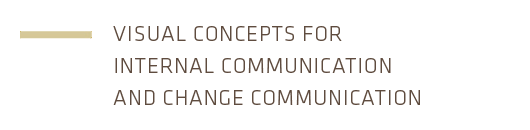 visual concepts for internal communication and change communication